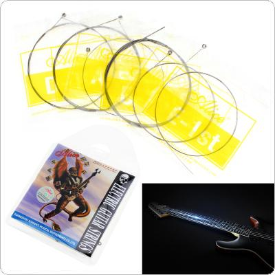 6pcs/set Electric Guitar Strings 010 - 046 Inch Plated Steel Coated Nickel Alloy String