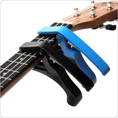 Acoustic Electric Guitar Capo Ukulele Capo Single-handed Tune Clamp