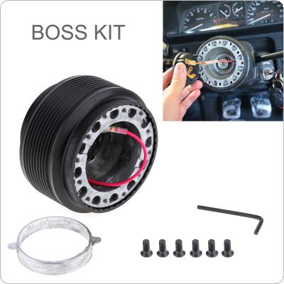 Aluminum & Plastic Car Steering Wheel Boss Kit Racing Hub Adapter Fit for TOYOTA