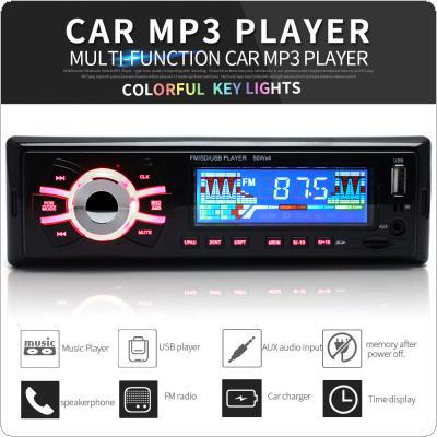 Car Stereo MP3 Playback 12V  Car Radio Player  Support USB SD AUX