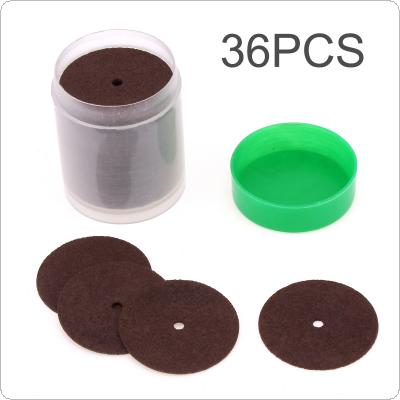 36pcs Resin Cutting Wheel Disc Abrasive Sand Cut-off Wheels for Dremel Rotary Tool