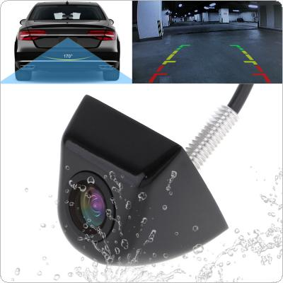 170 Degree Wide Angle Car Rear View Camera Waterproof Night Vision Reverse Parking Camera for Vehicles