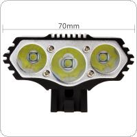 Outdoor  XM-L T6 X3 LED 4-Mode Bicycle Head Light Cycling Front Lamp 5V USB