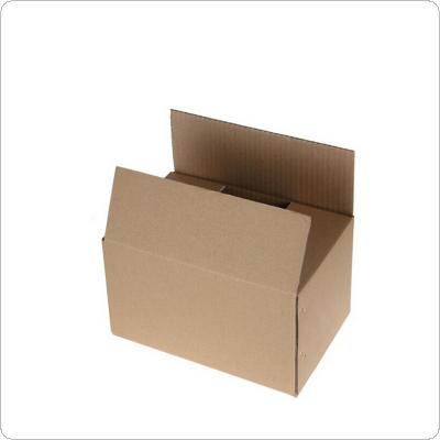 Gray Package Box 110x 110 x 300mm