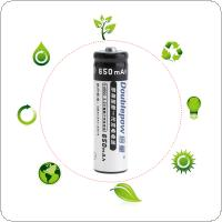 Doublepow 2pcs 14500 AA 650mAh 3.2V LiFePo4 Rechargeable Battery with 3A Charging Current for Cameras / Toys / Flashlights