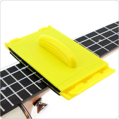 Guitar String Two Sided Cleaner Cleaning Tool with Soft Fibre Brush Small and Durable for Guitar Ukulele Banjo Bass