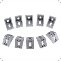 10pcs 3030 System Aluminium Angle Code Nut Hole Support T Slot 2835 Triangular Frame for Connecting The Flow Profile