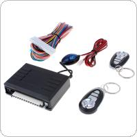 Car Alarm Systems Auto Remote Central Kit Door Lock Vehicle 12V Keyless Entry System with Remote Control