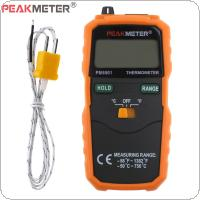 PM6501 K Type Digital Thermometer Wireless Temperature Meter Digital LCD Display with Thermocouple Probe