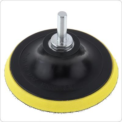 4 Inch Disc Sandpaper Self-adhesive Abrasive Pad 100mm Shank Dia Polishing Abrasive Tools Electric Grinder Accessoriess