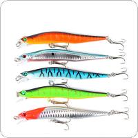 Fishing Lure 12cm/10g 3D Fish Eye Minnow Sound Ball Built-in Artificial Hard Bait 5 Colors Optional