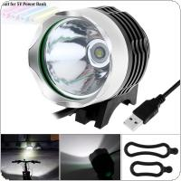 USB-powered 500LM LED LB-XL T6LED Bike Bicycle Headlamp with 3 Modes