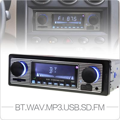 12V Bluetooth Car Radio 1 DIN Stereo Audio Player FM Radio Support / Aux Input / SD / USB  with Remote Control