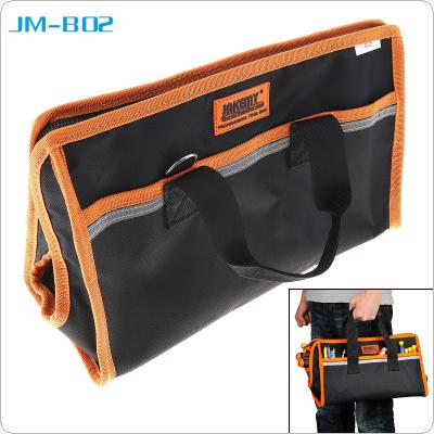 JM-B02 10 Inch Water-proof Hand Tool Bag Multi-functional Pocket Pouch Professional Electrician Hardware Bag