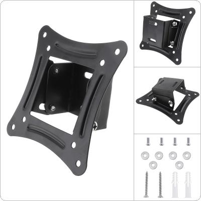 Universal 15KG TV Wall Mount Bracket Fixed Flat Panel TV Frame Support 15 Degrees Tilt Angle for 14-26 Inch LCD LED Monitor Flat Panel