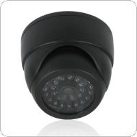 Dummy Dome Security Camera with 30pcs False IR LED + Red Activity LED Light