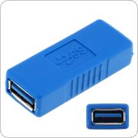 DiGiYes Superspeed USB 3.0 Type-A Female to Female Adapter Bridge Extension Coupler Gender Changer Connector
