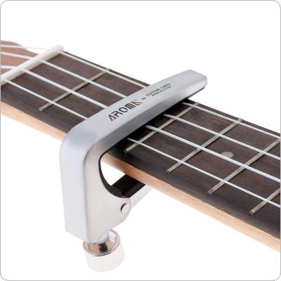 Force Adjustable Zinc Alloy Guitar Capo with Perfect Silicon Cushion