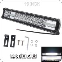 7D 16 Inch 360W Car LED Work Light Bar Triple Row Spot Flood  Combo Offroad Light  Driving Lamp Fit for Truck SUV 4X4 4WD ATV