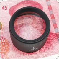 30X 36mm Zinc Alloy Optical Glass Loupe Magnifier Lens Detachable for Coins / Stamps / Jewelry