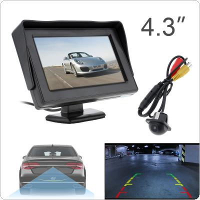 201707/20157-first-1-m.jpg · 4.3 Inch HD 480 x 234 Resolution 2-Channel Video Input TFT-LCD Car Monitor + 170 Wide Angle 420 TV Lines Car Rear View Camera ...