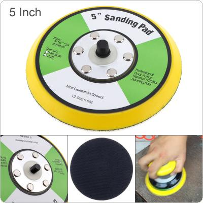 Professional 5'' 12000RPM Dual Action Random Orbital Sanding Pad for Pneumatic Sanders / Air Polishers