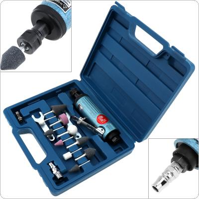 TORO 1/4 Inch Large Pneumatic Grinding Machine Mold Air Compressor Die Grinder Tool with 14pcs Rotary Tool Kit