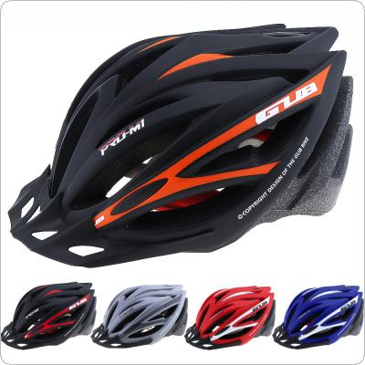GUB M1 55-61cm Ultralight Integrally-molded Cycling Bicycle Helmet with 21 Air Vents for Men / Women