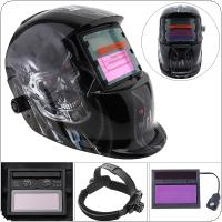 Welding Tools Stepless Adjust Solar Auto Darkening TIG MIG Grinding Welding Helmets / Face Mask / Electric Welding Mask / Weld Cap