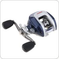 12+1BB 6.3:1 Gear Ratio Stainless Steel Fishing Baitcasting Reel Max Drag 5KG / 11LB with Magnetic Brake Right Left Hand Optional