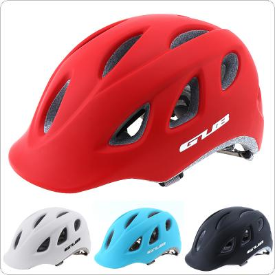 GUB 57-60cm Integrally-molded Bicycle Helmet Mountain Helmet with 18 Air Vents for Cycling