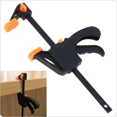 4 Inch F Clip Quick Ratchet Release Speed Squeeze Wood Working Clamp Clip Kit Spreader Gadget Tool DIY Hand Work Bar