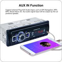 12V Bluetooth Car Radio MP3 Player Vehicle Stereo Audio Support FM / USB / SD / AUX In with Remote Control