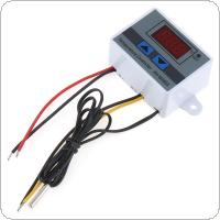 XH-W3301 220V 1500W 10A Digital LED Temperature Controller Switch with Indicator Light and Waterproof Probe for -50~110 Degrees Celsius