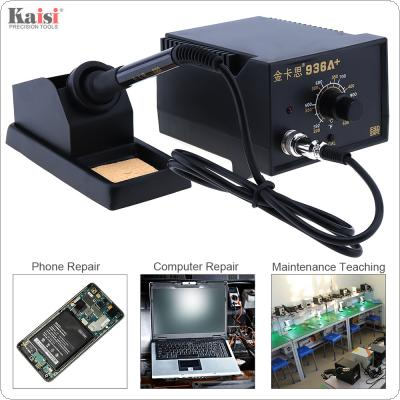 Kaisi 936A+ 220V 60W Adjustable Constant Temperature Soldering Station with Soldering Iron and Iron Holder for Welding Electronic Products