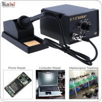 Kaisi 936A+ 220V 60W Adjustable Constant Temperature Soldering Station with Soldering Iron and Iron Holder for Welding Electronic Goods