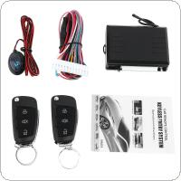 12V Car Alarm System Vehicle Keyless Entry System with Remote Control & Door Lock Automatically for Volkswagen