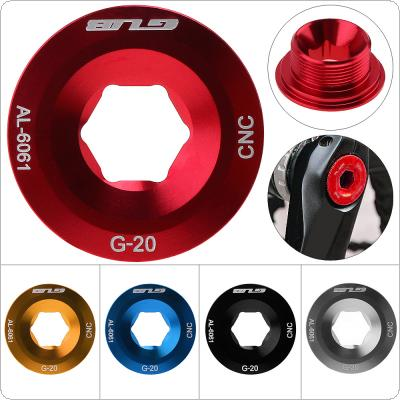 G-20 Aluminum Alloy Bike MTB Bottom Bracket Cup Screw with Hollow Design for Mountain Bicycle