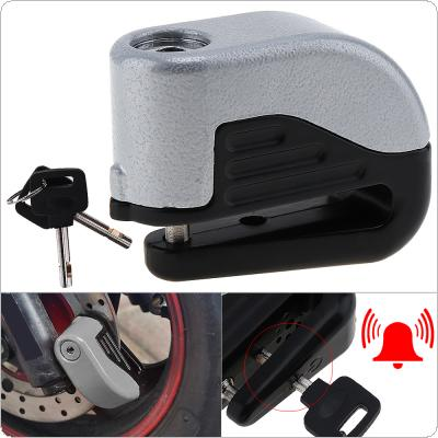 Waterproof Anti Theft Bike Lock Disc Brakes Alarm with Reinforced Cylinder for Mountain / Road Bicycle