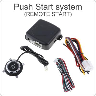12V Universal Auto Car Push Start System Support Remote Control 10 Mins Countdown Stop Car and A Key Start / Stop