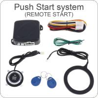 Universal 12V Auto RFID Car Alarm System & Warded lock Anti-theft Push Start System