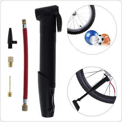 Portable Multi-functional Bicycle Tire Air Pump Inflator with Pump Inflator Extension Tube for Bicycle Wheel / Ball