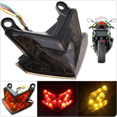 12V 5W 800LM LED Tail Light Integrated Brake Turn Signals Light for KAWASAKI Z800 / Z125 2013-2016