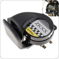 12V 30W Single Sound Snail Horn Suitable for Motorcycles Bicycles Automobiles