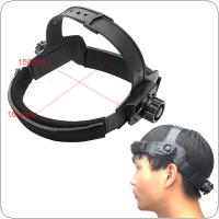 Solar Automatic Variable Light Welding Welding Cap Adjustment Headband for Welding Mask Use