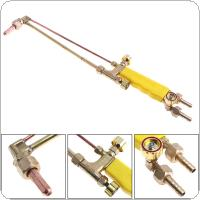 Copper Jet Type Torch Gas Welding Gun support Oxygen Acetylene Propane for Highway / Bridge / Building