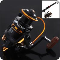 4000 Metal Spinning Reel 12+1BB 5.1:1 Carp Fishing Reel Wheel Tackle for Ocean Boat Fishing