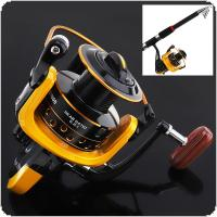 Carp Fishing Reel Wheel 12BB 7000 Spinning Reel with 20KG Drag Power for Ocean Boat / Rock Fishing