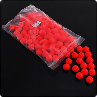 5# 100pcs Red EPS Foam Fishing Floats Ball Eye-catching Beans for Saltwater / Freshwater Fish