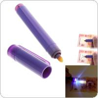 Mini Portable Combo Magical Lottery Pen with Checking Special LED Water Multi-functional Bank for Checking Fake Money